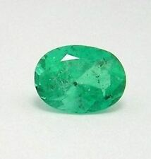 Colombian Emerald Oval Shape Loose 1.82 Cts Fine Natural Colombian Muzo Emerald