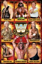 WWE Wrestling All-Time Legends POSTER w/Andre the Giant, Stone Cold, Macho Man +