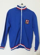 Mazine Czech Republic Sz Large Knit Full Zip Jacket Coat of Arms Flag