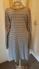 Ladies Fine Knit Tunic Dress Size 20 To 22 By George