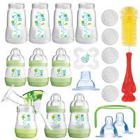 MAM All-In-One Vorteilspack Starterset 23 tlg Anti-Colic Flaschen Milchpumpe NEU
