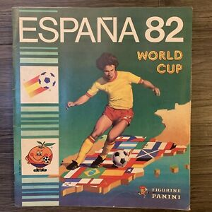Panini Espana 82 World Cup - Football Sticker Album 100% Complete Full Set
