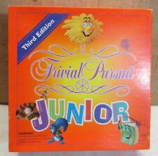 Trivial Pursuit Junior Third Edition Board Game 1987