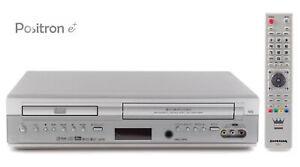 VHS Videorecorder mit DVD Player / Kombigerät / 6-Head Hifi Stereo Videorekorder