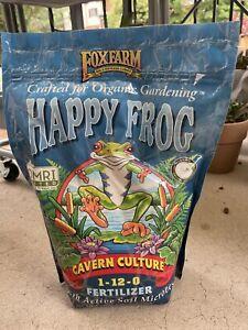HAPPY FROG CAVERN CULTURE GUANO 1-12-0 ORGANIC FERTILIZER 4-LB BAG FOXFARM