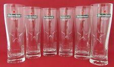 6 verres Heineken 50cl