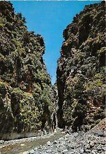BR11108 Crete Sfakia The ravine of samaria  greece
