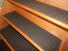 🔴 4 Pack Step 8'' x 35'' 100% Rubber Stair Treads Non Slip HEAVY Duty FAST SHIP