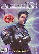 Deus Ex: Invisible War PC CD ROM Video Game 2-Disc Set, Manual 2003 Eidos Mature