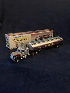 VINTAGE 80s DIAPET YONEZAWA TOYS JAPAN Mack Sunoco Tanker Truck  T-94 Very Rare