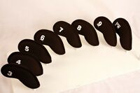 Womens Clubs Head Covers New Thick Neoprene 3-pw Golf Club Iron Headcover Set Hc
