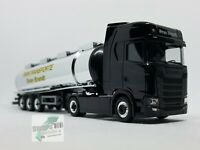 Herpa 932684 Scania CS HD Sattelzug Asphalt-Cowboys DMAX  Brandt Transporte