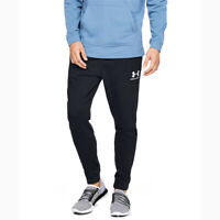 New Under Armour Mens Sportstyle Terry Joggers Size XXL Black