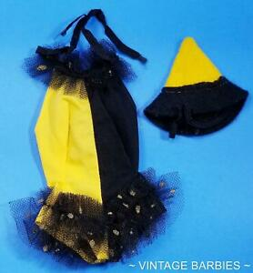 Barbie Doll Masquerade #944 Costume & Hat Near Mint ~ Vintage 1960's