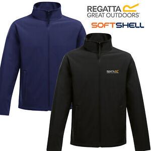 Regatta Ablaze Mens Softshell Jacket Waterproof Embroidered Logo New Soft Shell