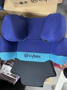 Cybex Solution X-Fix Kinderautositz 15-36 kg - Blue Moon Navy Blue