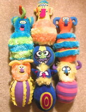 Melissa & Doug - Plush 6-Pin MONSTER BOWLING Game - Complete With Carrying Case