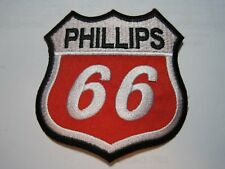 PATCH PHILLIPS 66 UNIFORM CLOTH PATCH 3 INCH CREST / CAP SIZE LOOK AND BUY!