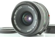 【Near Mint】 Canon Lens FD 28mm F2.8 Wide Angle MF Lens For FD Mount F.Japan 34