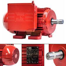 5 Hp Electric Motor W215t Frame 1730 Rpm 1 Phase Weg Farm Duty Air Compressor