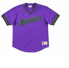 Mitchell & Ness Arizona Diamondbacks Baseball Jersey New Mens Sizes MSRP $90.00