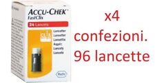 ACCU CHEK FASTCLIX 96 LANCETTE PUNGIDITO ROCHE (OFFERTA 4 confezioni) scad 11/23