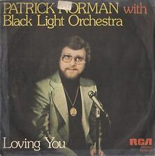 DISCO 45 Giri   PATRICK NORMAN WITH BLACK LIGHT ORCHESTRA – LOVING YOU