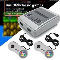 Super SNES SFC Mini Family TV Video Game Console Retro AV Out Built-in 620 Games