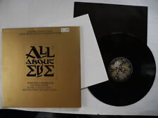"""ALL ABOUT EVE Martha's Harbour + 3 tracks 12"""" Maxi with colour poster 1988 UK EX"""