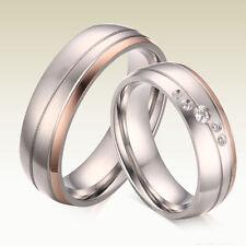 2 Partnerringe Trauringe Hochzeit Verlobungs Ehe Ringe Edelstahl Gravur GPR041-2
