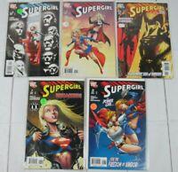Supergirl #4-8 2006, DC Comics Lot of 5 Comics
