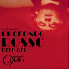 Profondo Rosso - Original Score - Red Vinyl - Goblin / Claudio Simonetti