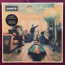 Oasis 'Definitely Maybe' 2 x VINYL UK 2014 NEW, SEALED
