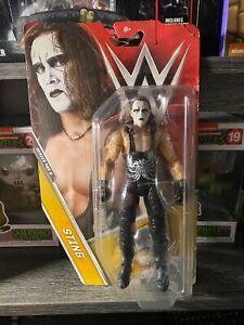 WWE BASIC LEGEND STING MATTEL ACTION FIGURE SERIES #68B WCW BRAND NEW nWo
