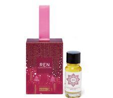 New - Ren Skincare Moroccan Rose Otto Bath Oil Holiday Ornament
