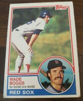 1983 Topps #498 WADE BOGGS RC Rookie! RED SOX