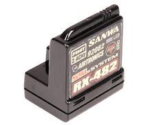 Airtronics Sanwa Empfänger RX-482 2.4GHz RC Sender 107A41257AA
