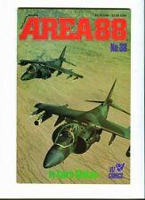 Area 88 . 38 Kaoru Shintani - Viz Comics 1989  - FN / VF