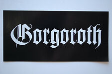 Gorgoroth Sticker Decal (449) Rock Black Metal  Mayhem Dissection Slayer Car