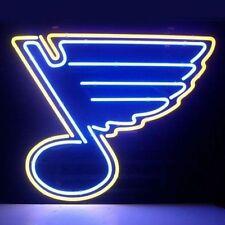 "New St. Louis Blues Logo Neon Sign 17""x14"""