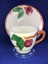 Franciscan Ware Apple Pattern Tea Coffee Cups and Saucer