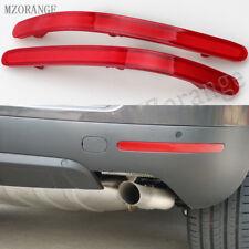 2X For VW VOLKSWAGEN TOUAREG 2003-2010 Rear Bumper Reflector Light Lamps Cover