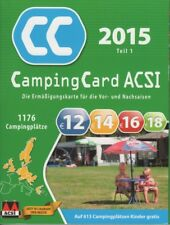 acsi campingcard g nstig kaufen ebay. Black Bedroom Furniture Sets. Home Design Ideas