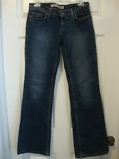 Women's EXPRESS low slung flare stretch jeans, 5/6 short