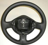 Copri volante rivestimento adatto Fiat Doblò vera pelle antracite Made In Italy