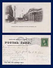 US INDIANA RICHMOND PENNSYLVANIA PASSENGER STATION 1910 TO GLADWIN MICHIGAN