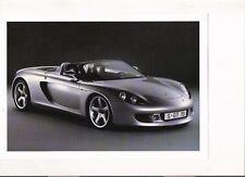 Porsche Carrera Gt Folleto