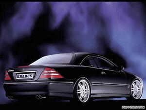2000-06 MERCEDES BENZ CL 500  ADJUSTABLE LOWERING LINKS SUSPENSION KIT W215 v1