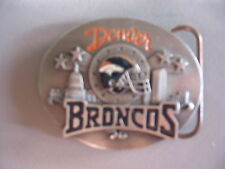 1999 Denver Broncos Buckle by Siskiyou - NEW Collectors