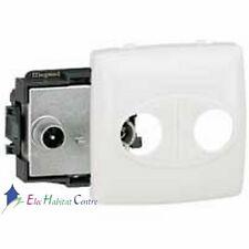 Prise TV/FM appareillage saillie composable - blanc Legrand 86145
